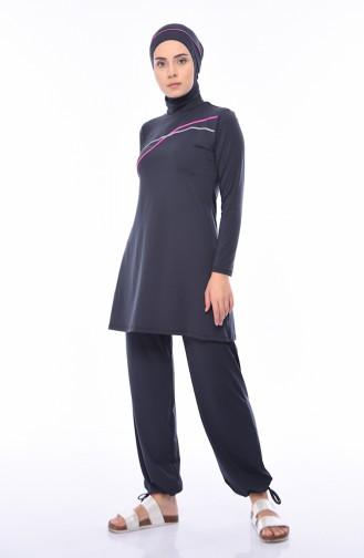 Hijab Badeanzug 1940-01 Anthrazit 1940-01