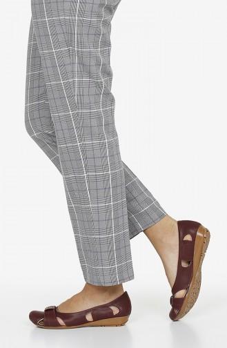 Claret red Woman Flat Shoe 3240-03
