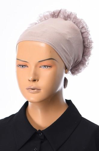 Spitzen Bonnet -12 Nerz 12