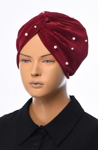 القبعات أحمر كلاريت 1039-13