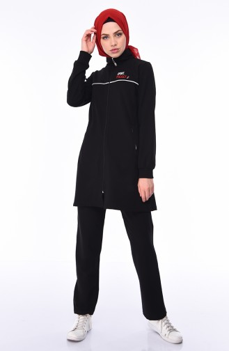 Black Sweatsuit 95207-03
