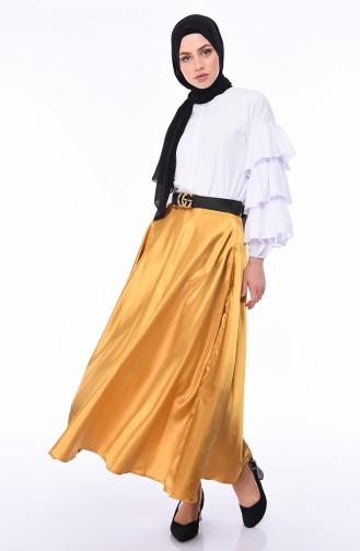 Mustard Skirt 21266-05