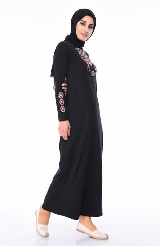 فستان أسود 4049-05