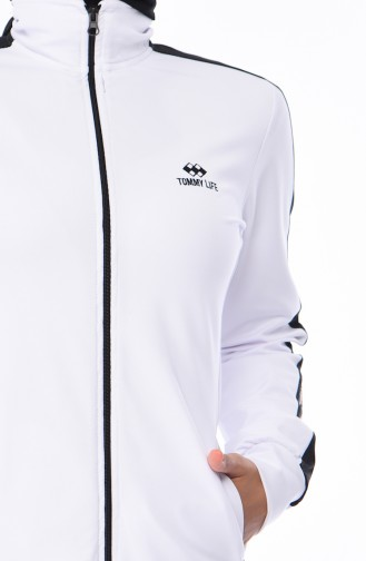 White Sweatsuit 95204-05