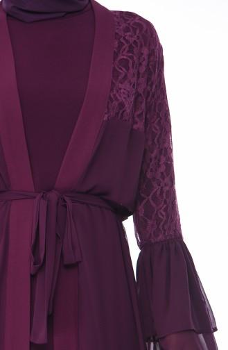 Purple Abaya 61288-01
