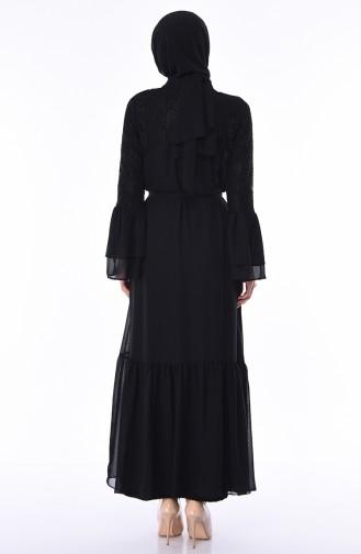 Black Abaya 61288-02
