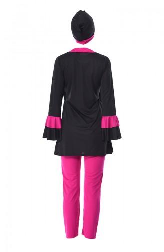 Black Swimsuit Hijab 0346-01