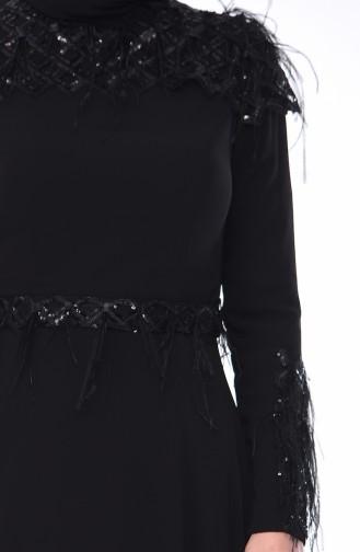 Abendkleid 4553-03 Schwarz 4553-03