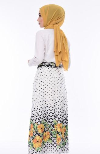 Yellow Skirt 0416-02