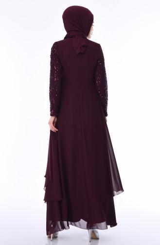 Habillé Hijab Plum 52758-01