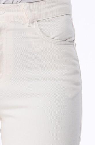 Cepli Kot Pantolon 2578-01 Ekru