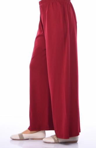 Pantalon élastique 7990-08 Bordeaux 7990-08