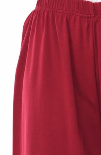 بنطال أحمر كلاريت 7990-08
