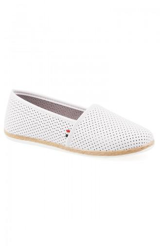 Chaussures de jour Blanc Cassé 0127-12