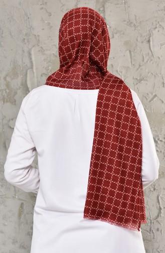شال أحمر كلاريت 640-105