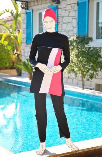 Black Swimsuit Hijab 1912-03