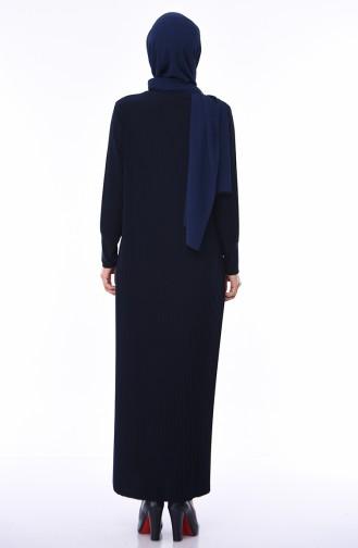 Schwarz Hijap Kleider 0008-03