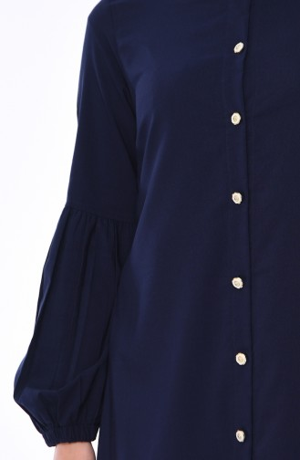 Navy Blue Tunic 1203-06