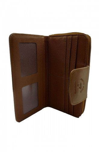 Tobacco Brown Wallet 16-04