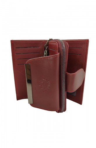 Claret red Wallet 18-06