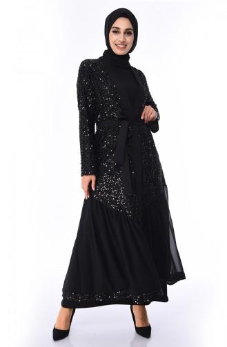 Black Abaya 61275-02