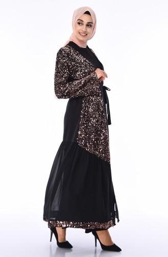 Black Abaya 61275-03