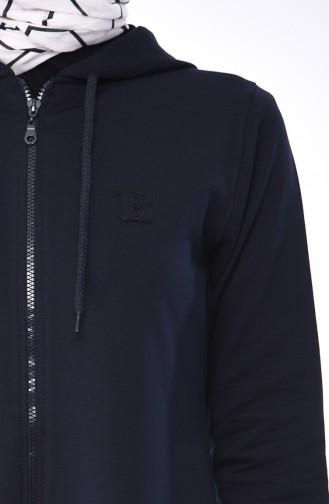 Navy Blue Mantel 8299-12