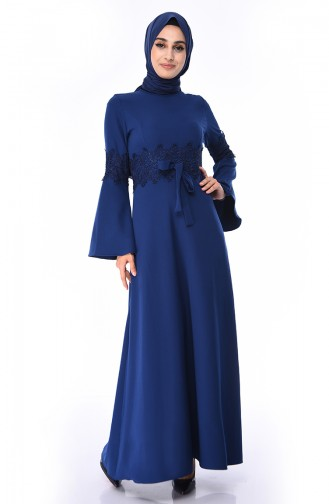 Navy Blue Dress 81720-02