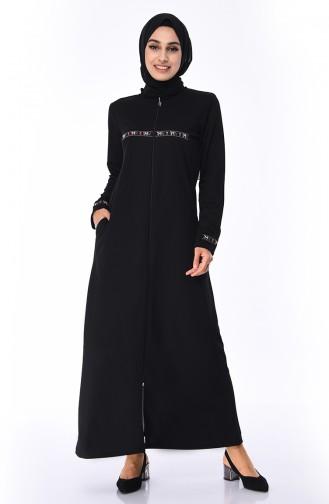Schwarz Abayas 99216-01