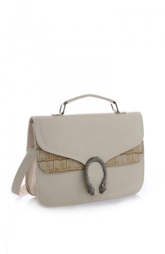 Beige Shoulder Bag 142Z-03