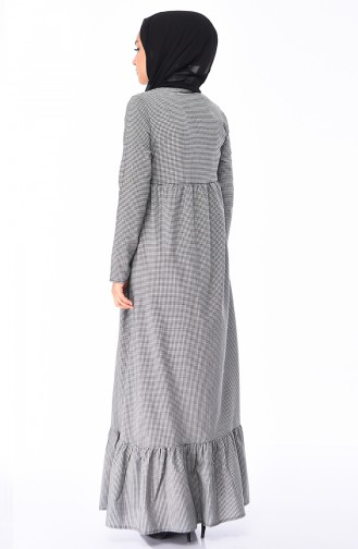 Schwarz Hijap Kleider 1205-01