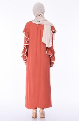 Robe a Froufrous 9088-01 Brique 9088-01