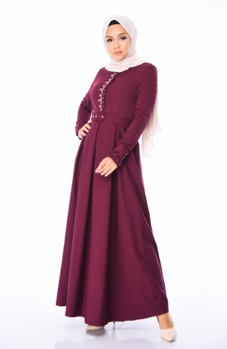 Damson İslamitische Jurk 9326-04