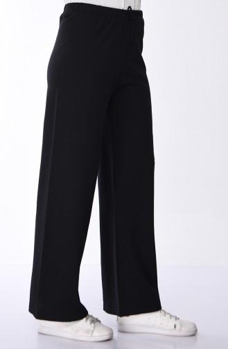 Pantalon Large 8108-01 Noir 8108-01