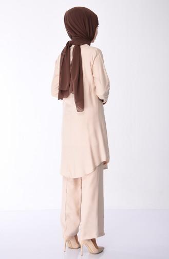 Beige Suit 6161-03