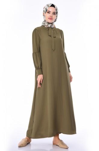 Khaki Dress 1058-03