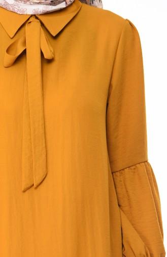 Robe D été Tissu Aerobin 1058-05 Moutarde 1058-05