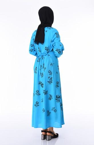 Turquoise Dress 0450-07