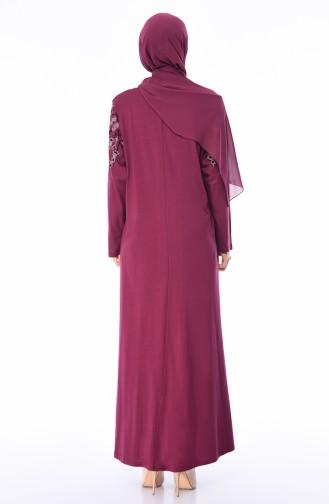 Robe Grande Taille 4496-03 Rose Pâle 4496-03