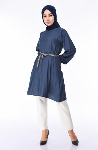 Navy Blue Tunic 0687-03