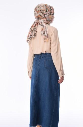Jupe Bleu Jean 2820-02
