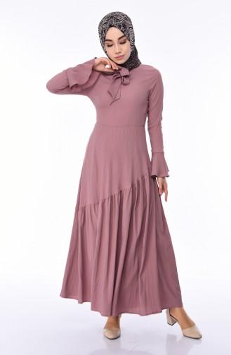 Dusty Rose Dress 1019-11