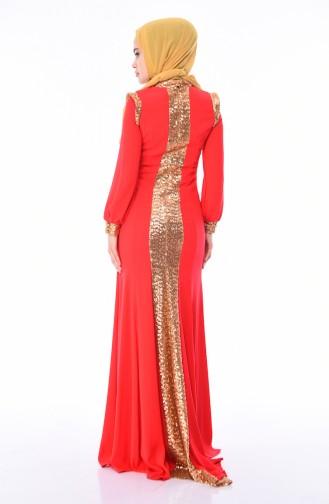 Robe de Soirée a Paillettes 4186-01 Fleurs de Grenadine 4186-01