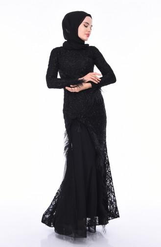 Abendkleid 4702-05 Schwarz 4702-05