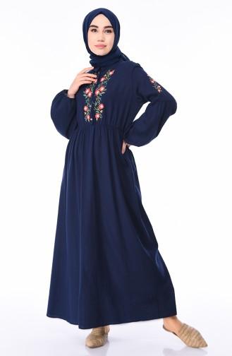 Navy Blue Dress 5020-01