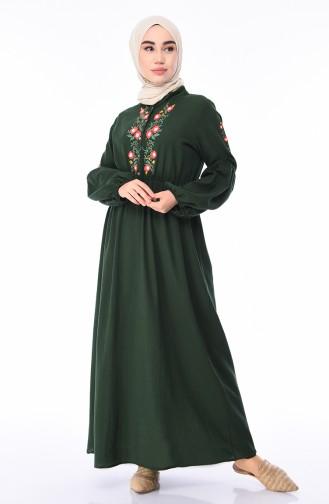 Khaki Dress 5020-02