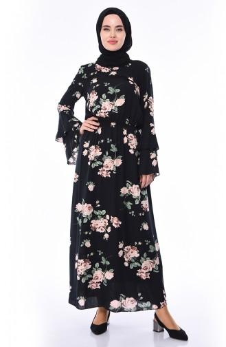 2d99b9ea9b293 Desenli Tesettür Elbise Modelleri ve Fiyatları - Tesettür Giyim ...