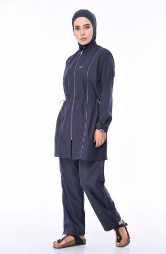 Anthracite Swimsuit Hijab 2011-02