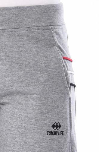 Pantalon Sport avec Poches 94187-04 Gris 94187-04