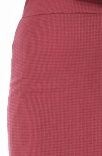 Jupe élastique Grande Taille 3006-15 Rose Pâle 3006-15